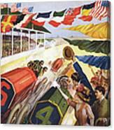 Indianapolis Motor Speedway Canvas Print