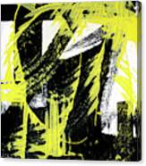 Industrial Abstract Painting II Canvas Print
