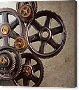 Industrial Gears Canvas Print
