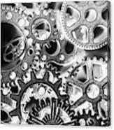 Industry Iron Canvas Print