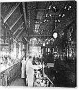 Inside Hannah And Hoggs Saloon Canvas Print