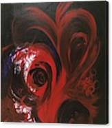 Intense Red#1 Canvas Print