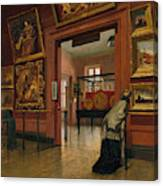 Interior View Of The Metropolitan Museum Of Art When In Fourteenth Street  Canvas Print