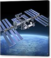 International Space Station Iss Canvas Print