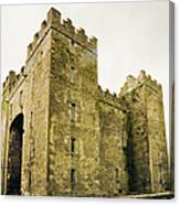 Ireland Bunratty Castle In County Canvas Print