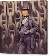 Isambard Kingdom Brunel, Genius Canvas Print