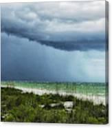 Island Rain Canvas Print
