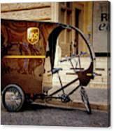 Italian Delivery Canvas Print