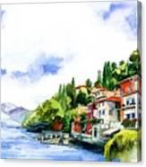 Italian Summer Vacation Canvas Print