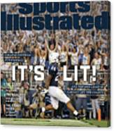 Its Lit And The 2018 Crazy Is Already Off The Charts Sports Illustrated Cover Canvas Print