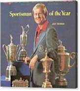 Jack Nicklaus, 1978 Sportsman Of The Year Sports Illustrated Cover Canvas Print