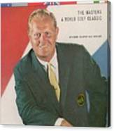 Jack Nicklaus, Golf Sports Illustrated Cover Canvas Print