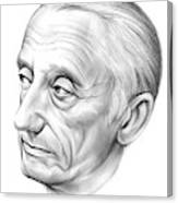 Jacques-yves Cousteau Canvas Print