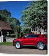 Jaguar E-pace Canvas Print