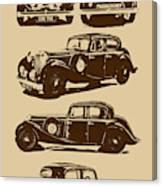 Jaguar Mark Iv Ss 2.5 Saloon Canvas Print