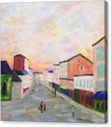 Japanese Colorful And Spiritual Nuance Of Maurice Utrillo Canvas Print