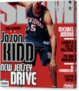 Jason Kidd: New Jersey Drive SLAM Cover Canvas Print