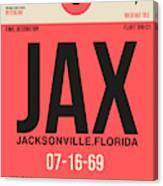 Jax Jacksonville Luggage Tag I Canvas Print