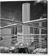 Jay Pritzker Pavilion Infrared Canvas Print