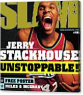 Jerry Stackouse: Unstoppable! SLAM Cover Canvas Print
