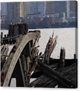 Jersey Broken Wharf IIi Canvas Print