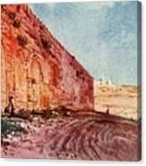 Jerusalem - The Triple Gate Canvas Print