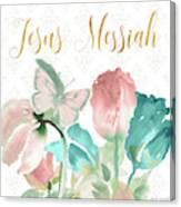 Jesus Messiah Canvas Print