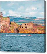 Jet Ski - Inchgarvie Canvas Print