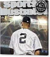 Jeter On Jeter The Exit Interview Sports Illustrated Cover Canvas Print