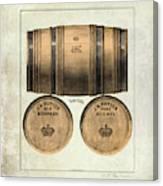 J.h. Cutter Old Bourbon Canvas Print