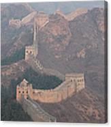 Jinshanling Section, Great Wall Of China Canvas Print
