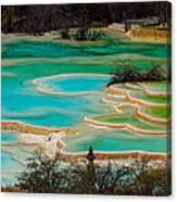 Jiuzhaigou,sichuan Canvas Print