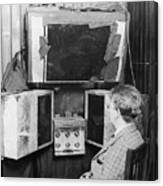 John L. Baird And His 1920s Tv Invention Canvas Print