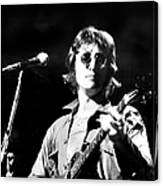 John Lennon. Performing At Th One To Canvas Print