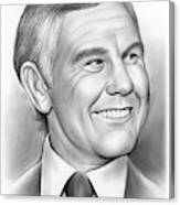 Johnny Carson 14sep18 Canvas Print