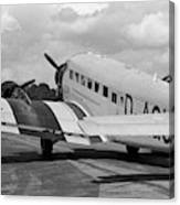 Ju-52 Taxing Canvas Print
