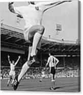 Jumping Geoff Canvas Print