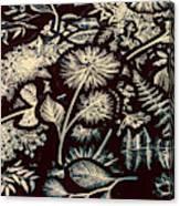 Jungle Flatlay Canvas Print