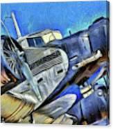 Junkers Ju 52 Art Canvas Print