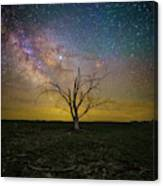 Jupiter In The Way  Canvas Print