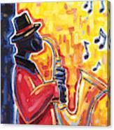 Just Jammin' II Canvas Print