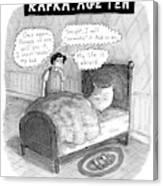Kafka Age Ten Canvas Print