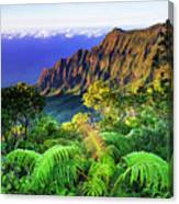 Kalalau Valley And The Na Pali Coast Canvas Print
