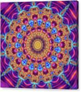Kaleidoscope Square Purple Orange and Blue