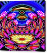 Kaleidoscopic Krystal Ball Canvas Print