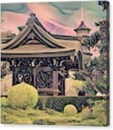 Kanagawa - The Japanese Garden Canvas Print