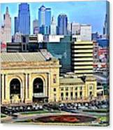 Kansas City 2019 Canvas Print