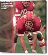 Kansas City Chiefs Qb Len Dawson, Super Bowl Iv Sports Illustrated Cover Canvas Print