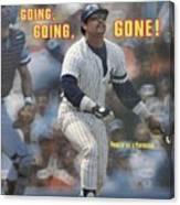 Kansas City Royals V New York Yankees Sports Illustrated Cover Canvas Print