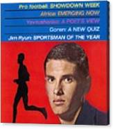Kansas Jim Ryun, 1966 Sportsman Of The Year Sports Illustrated Cover Canvas Print
